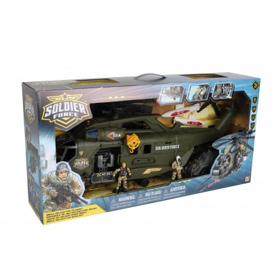 CHAP MEI karinis rinkinys Soldier Force Mega Helicopter Playset, 545068