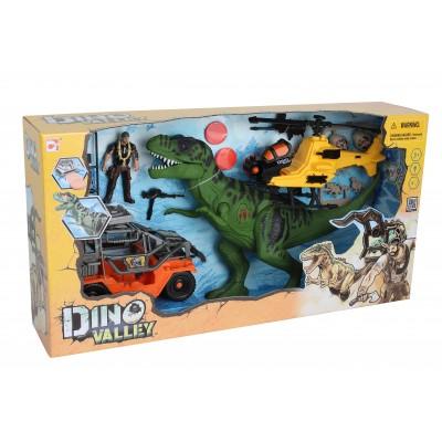 CHAP MEI rinkinys Dino Valley T-Rex Revenge Playset, 542090