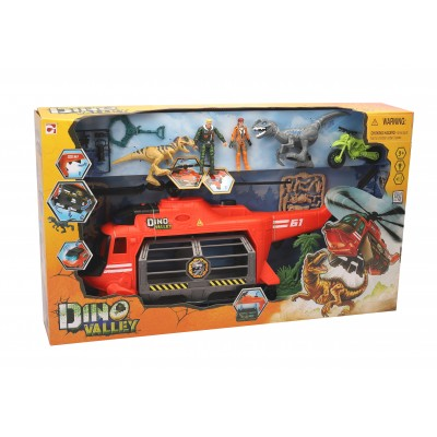 CHAP MEI rinkinys Dino Valley 6 Jaw-Copter, 542057