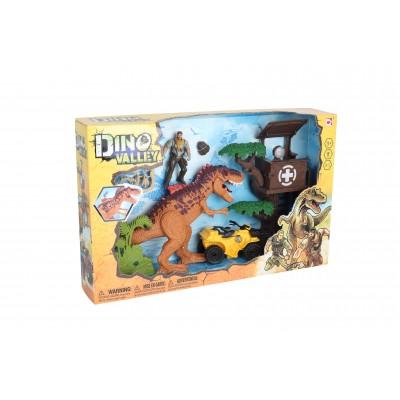 CHAP MEI rinkinys Dino Valley Treehouse Assault, 542087