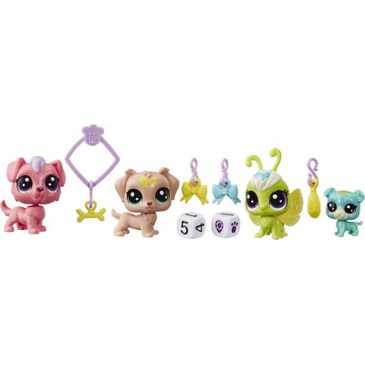 LITTLEST PET SHOP Lucky pets fortune CREW, E7258EU4
