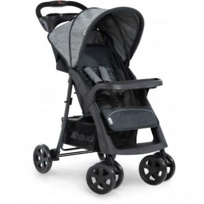 HAUCK vežimėlis Shopper Neo II Melange grey/charcoal