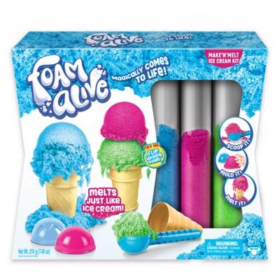 FOAM ALIVE modeliavimo masės rinkinys Ice Cream, 5907
