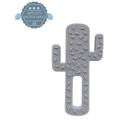 MINIKOIOI silikoninis kramtukas Grey Cactus 101090004