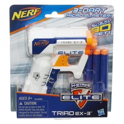 NERF šautuvas Elite Triad Ex3, A1690EUA