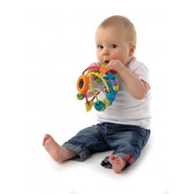 PLAYGRO lavinamasis kamuolys-barškutis Žaisk ir mokykis, 4082679