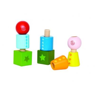 HAPE blokeliai Twist&Turnables, E0416