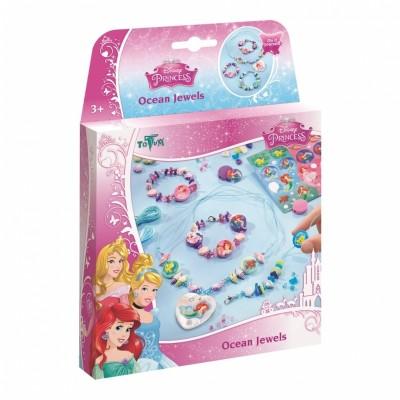 TOTUM Disney Princess kūrybinis rinkinys Ocean Jewels, 044005