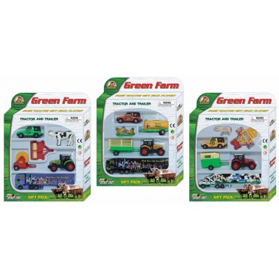 PIONEER rinkinys GREEN FARM, 3 asort., PT403