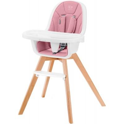 KINDERKRAFT maitinimo kėdutė 2in1 TIXI Pink