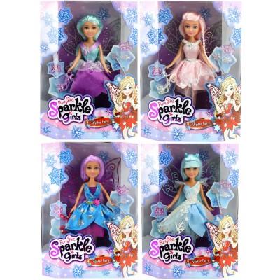 SPARKLE GIRLZ lėlė Winter Fairy, asort., 10004