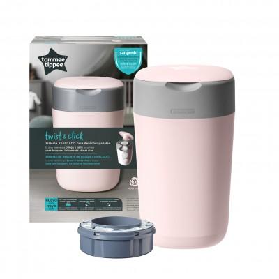 TOMMEE TIPPEE konteineris sauskelnėms Sangenic Twist&Click, rožinis, 85101601