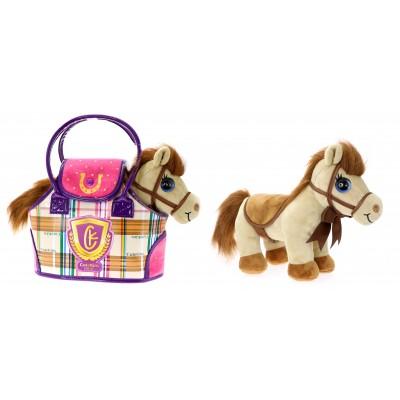 CUTEKINS pliušinis žaislas Arkliukas su nešiojimo krepšiu, 51086