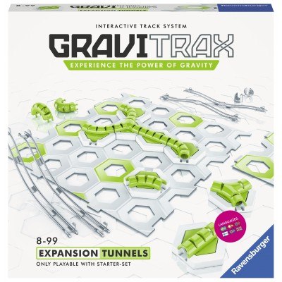 GRAVITRAX takelių sistemos priedų rinkinys Tunnels, 26081