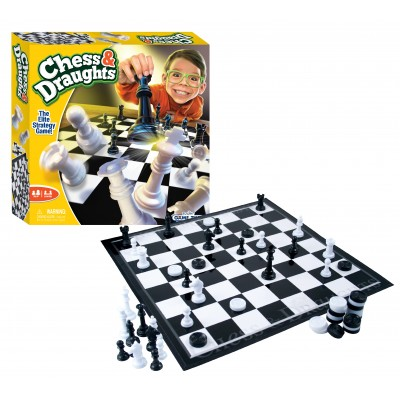FUNVILLE GAMES žaidimas Chess & Draught, 61152