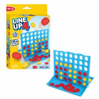 FUNVILLE GAMES žaidimas Line Up 4, kelioninė versija, 61142