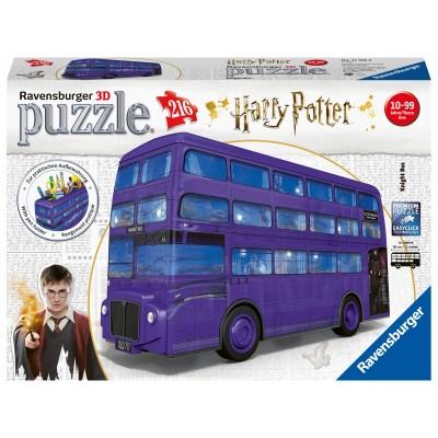 RAVENSBURGER 3D dėlionė Harry Potter Knight Bus, 216d., 11158