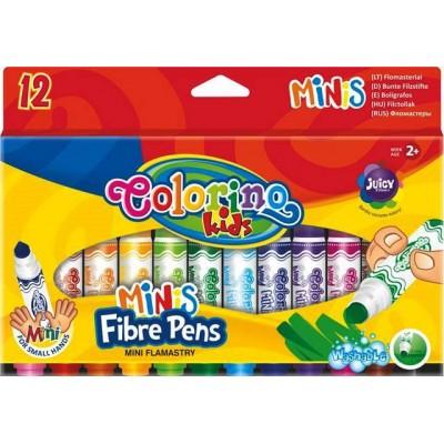 COLORINO KIDS flomasteriai Mini, 12 spalvų, 32117PTR