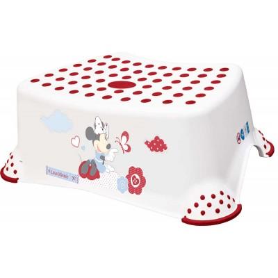 OKT KIDS  laiptelis Minnie white 8445