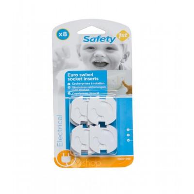 Safety 1st kištukai pasukami elektros lizdo, 8vnt., 39051760