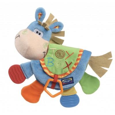 PLAYGRO knygelė-kramtukas Arkliukas Toy Box, 0101146