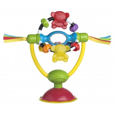 PLAYGRO besisukantis žaislas maitinimo kėdutei, 0182212