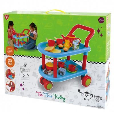PLAYGO stalelis su ratukais ir indais 24mėn.+, 3128