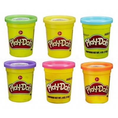PLAY DOH plastilinas Single Can, asort, B6756EU4