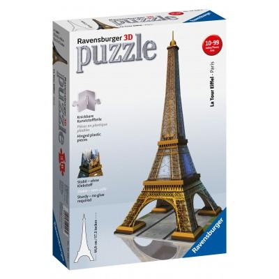 RAVENSBURGER 3D dėlionė Eifelio bokštas 216d., 12556