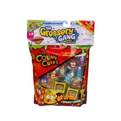 GROSSERY GANG figūrėlių rinkinys Large Pack, 10 vnt, 69003