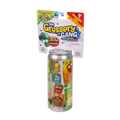 GROSSERY GANG figūrėlių rinkinys Regular Pack, 4 vnt, 69002
