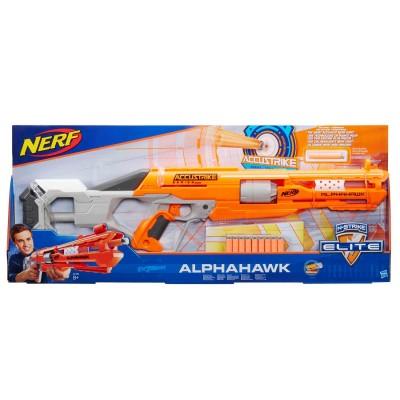NERF šautuvas su šoviniais N-STRIKE ELITE ACCUSTRIKE ALPHAHAWK, B7784EU4