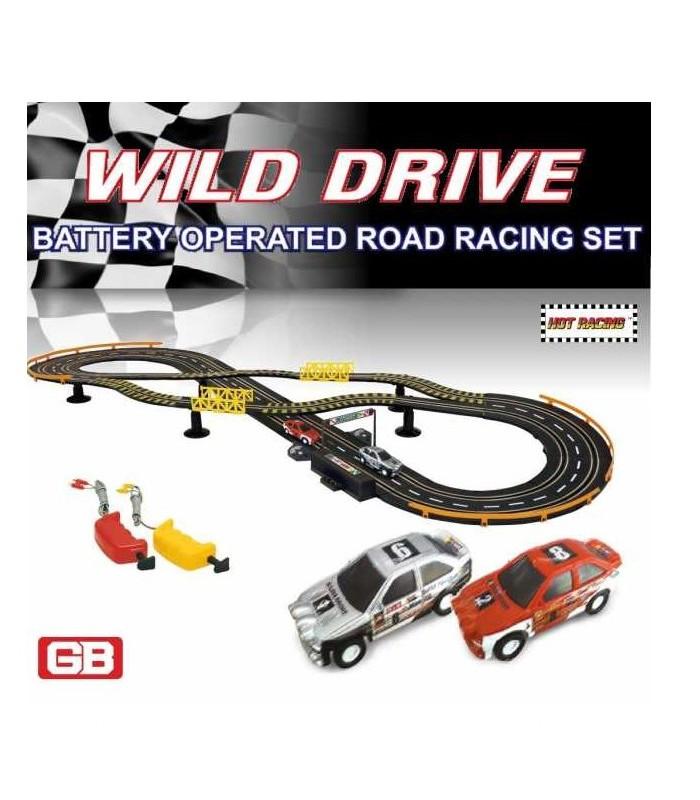GOLDEN BRIGHT rinkinys lenktynių trasa WILD DRIVE, 63334