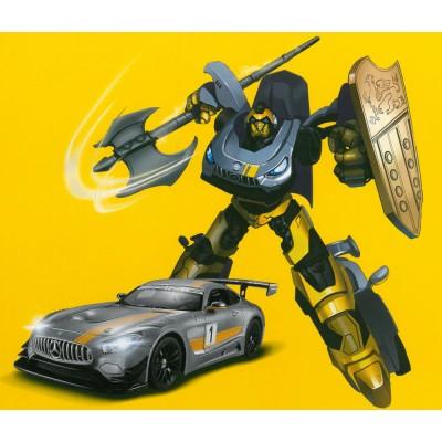 RASTAR automodelis transformuojamas valdomas RC 1:14 Mercedes-Benz GT3, 74800