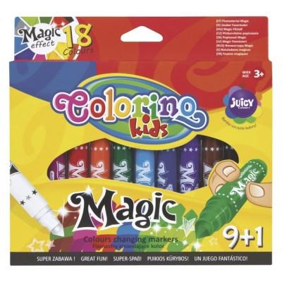 COLORINO KIDS flomasteriai keičiantys spalvas, 9+1 spalvos, 34630PTR