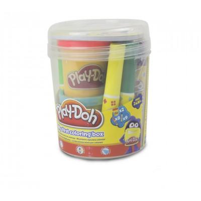 PLAY DOH kūrybinis rinkinys Pirmasis, indelyje, CPDO009